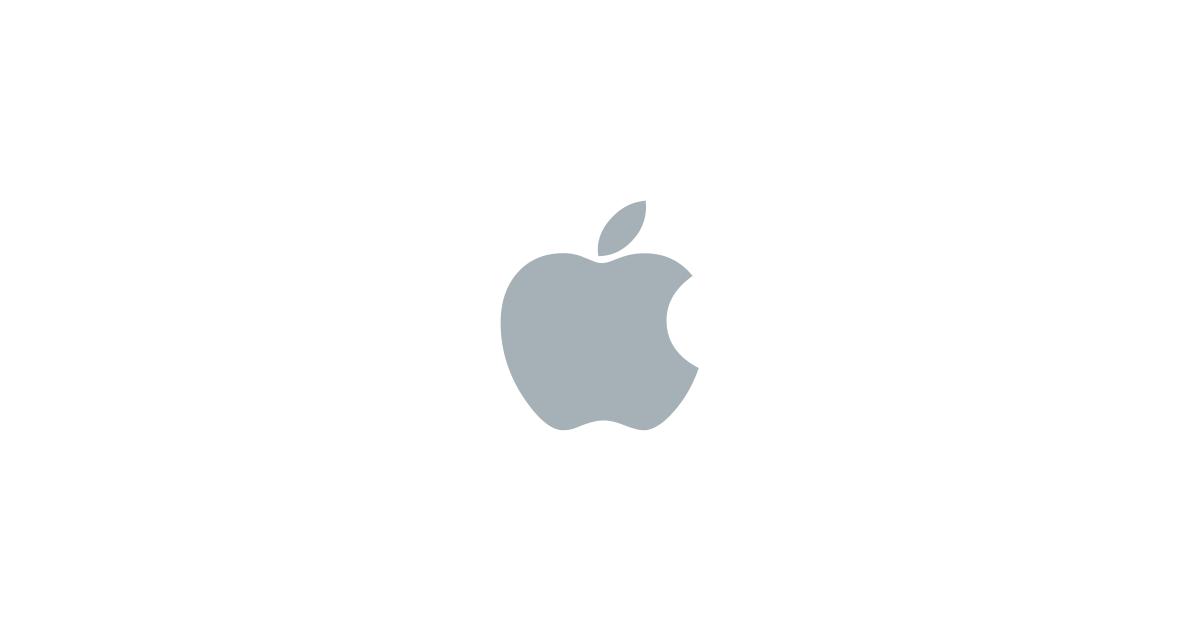 画像: Apple