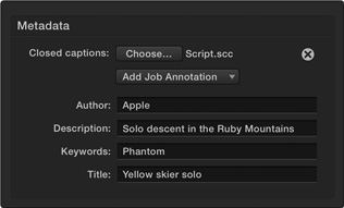 how to add closed captioning to video final cut pro