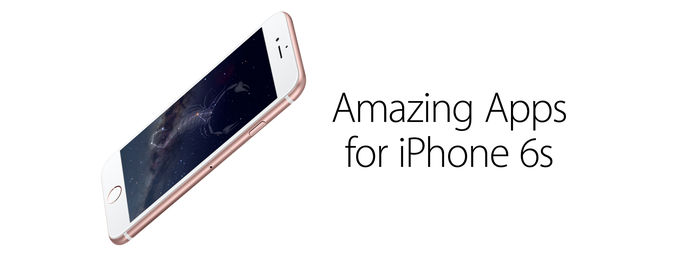 Amazing Apps for iPhone 6S
