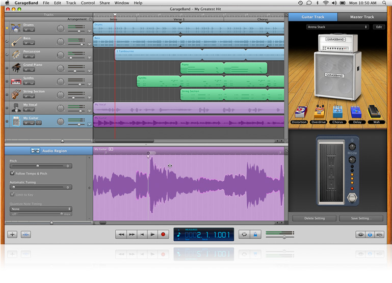 Apple (Canada) - GarageBand - Learn about Flex Time and