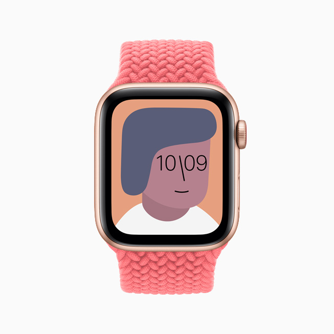 Il quadrante Artist su Apple Watch SE.