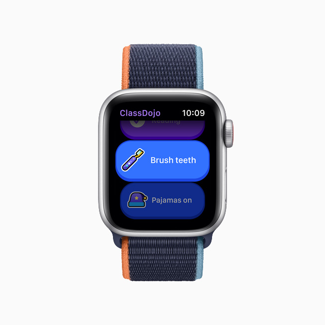 La app para niños ClassDojo en el Apple Watch.