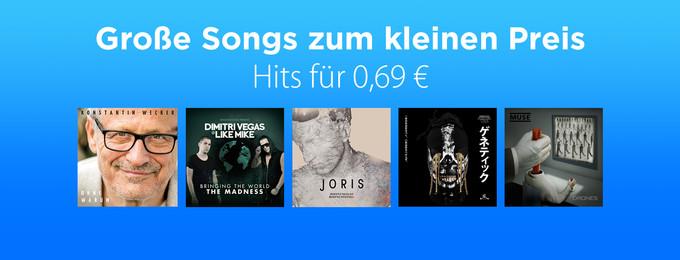 Hits für 0,69 €