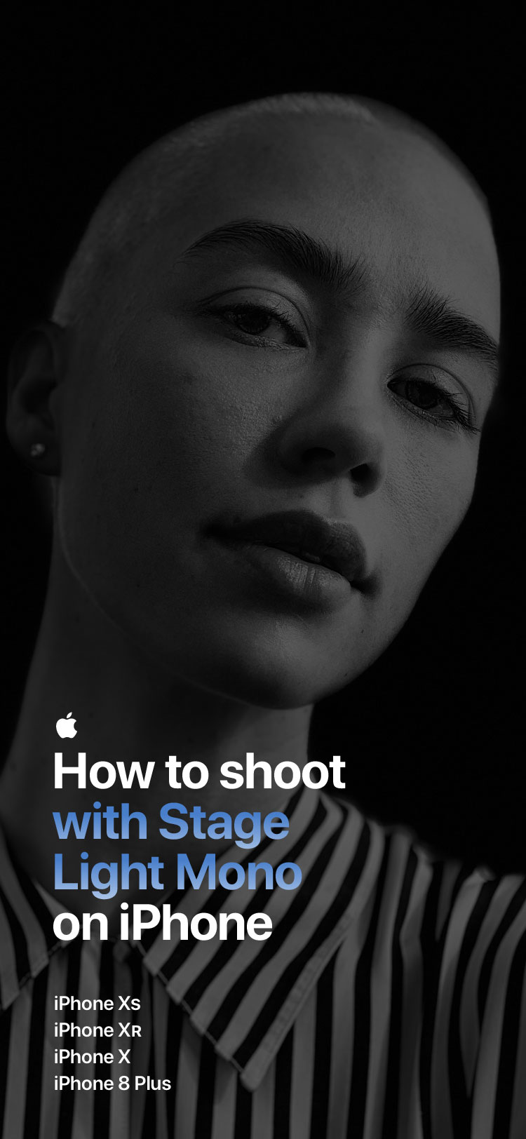 How To Shoot With Stage Light Mono On Iphone