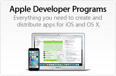 Apple Developer Programs Everything you need to create and distribute apps for iOS and OS X.