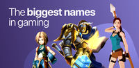 The biggest names in gaming