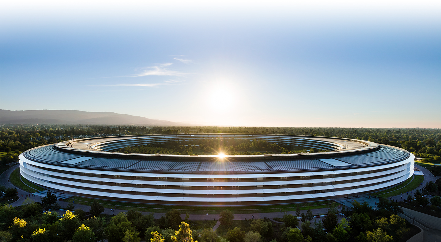 L'Apple Park a Cupertino, California