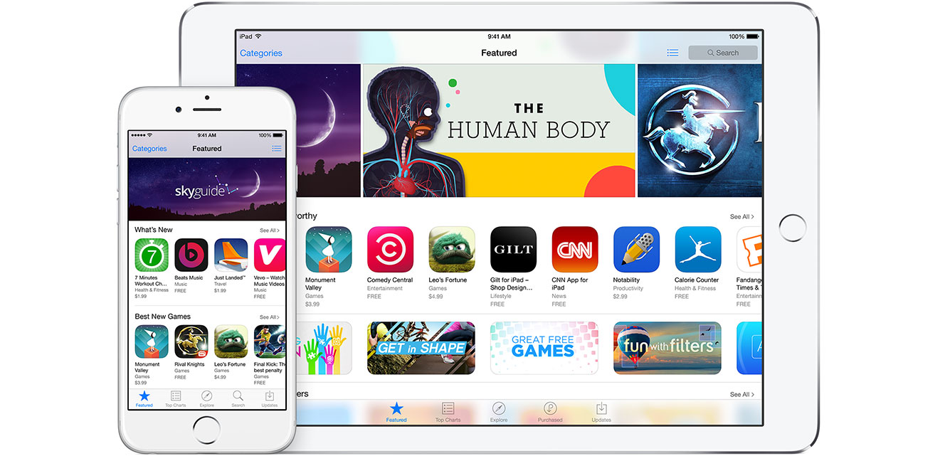 iTunes - Working with iTunes - Sell Your Content - Apps
