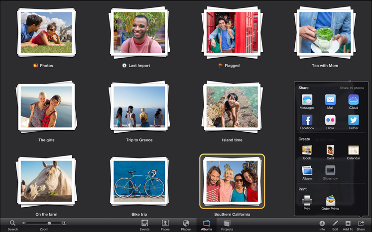 Iphoto for mac apple for Pc retouche photo