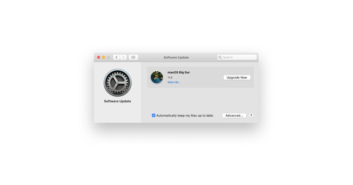 updating my mac