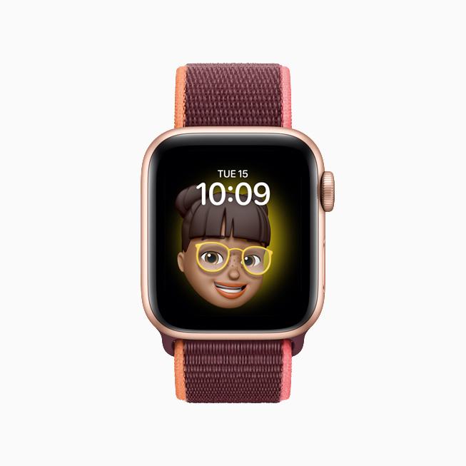 Memoji on Apple Watch.