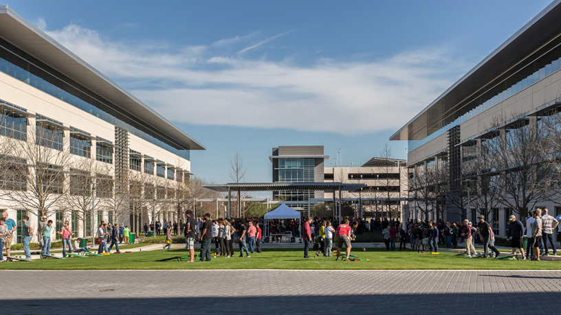 Apple's current Austin campus.