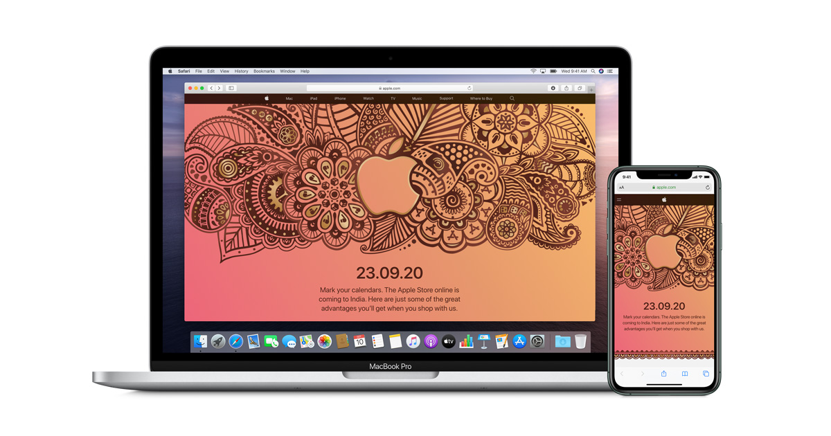 photo of Apple brings online store to India September 23 image