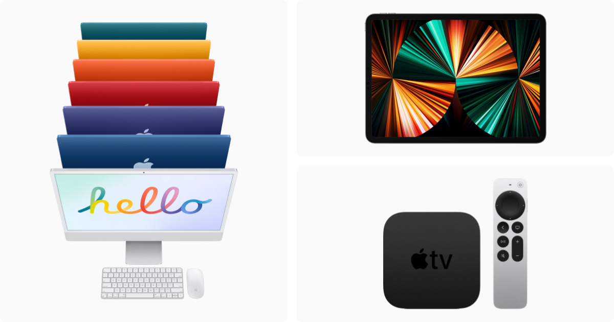 iMac, iPad Pro und Apple TV 4K ab Freitag im Handel
