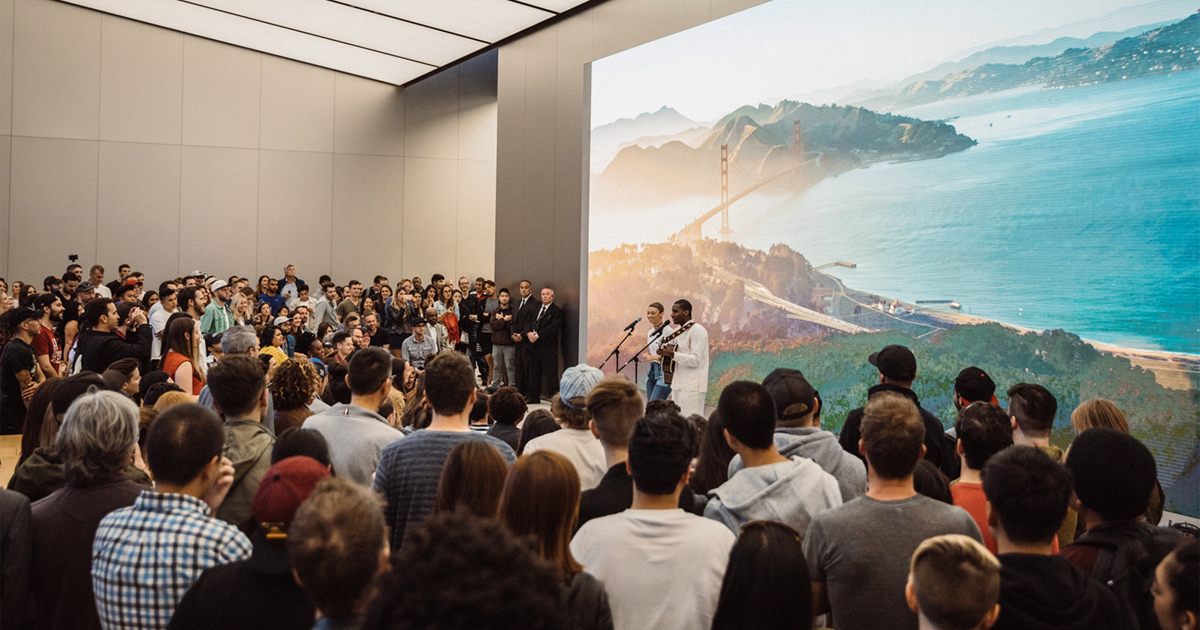 "Image result for ""Today at Apple"" launches worldwide"