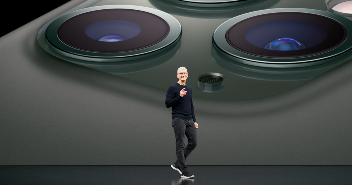 photo of Highlights from Apple's keynote event image