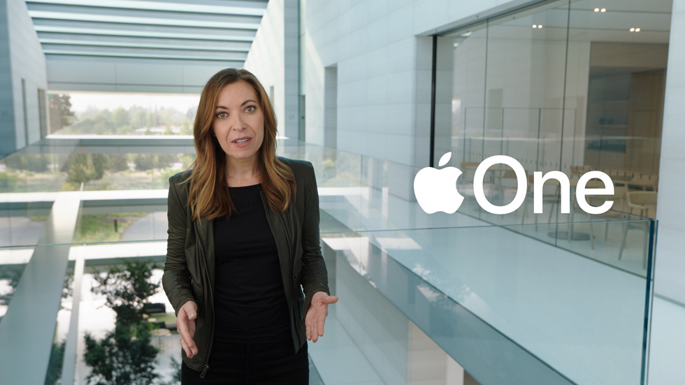 Lori Malm à Apple Park.