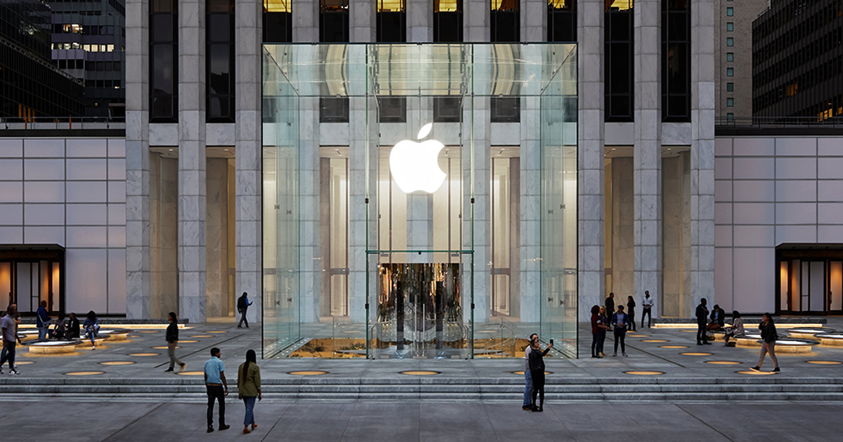photo of Apple Fifth Avenue: The cube is back image