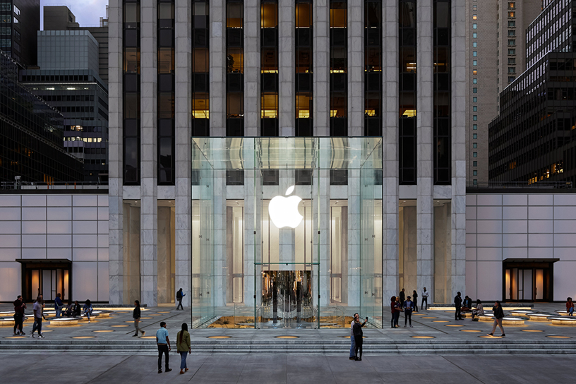 Apple's Fifth Avenue Facelift Addresses Critique That It's Hard to Shop There