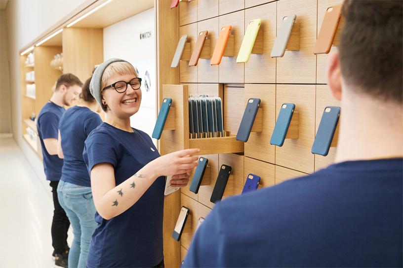 Apple, Avusturya Mağazası