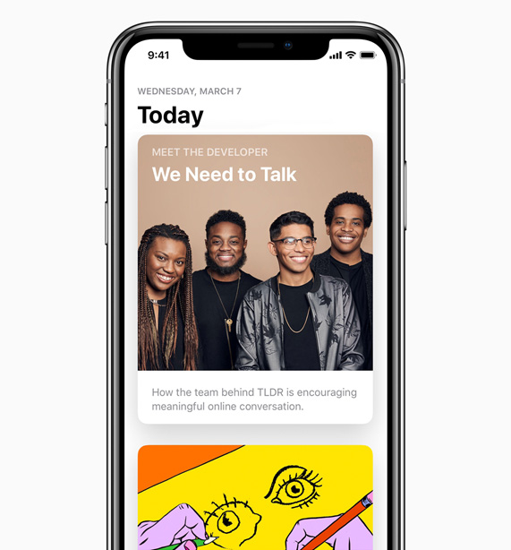 Apple meet the developer