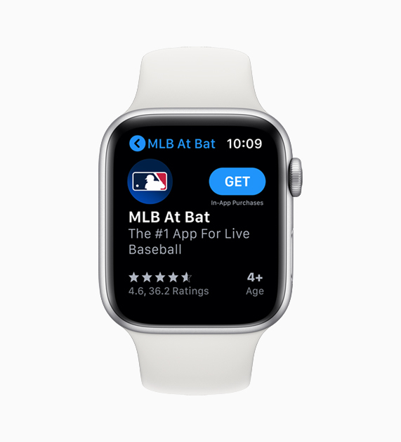 App Store sur Apple Watch