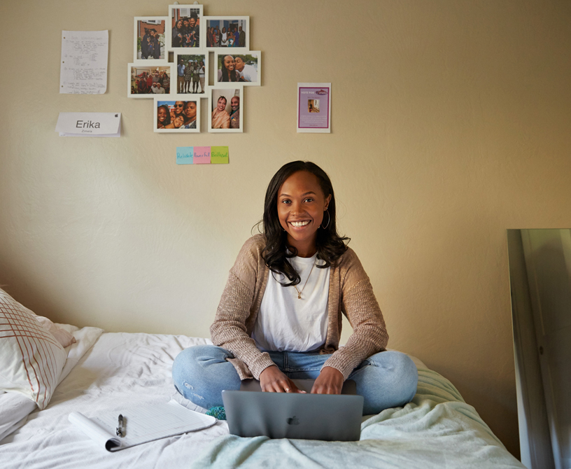 Erika Hairston, creator of Zimela.