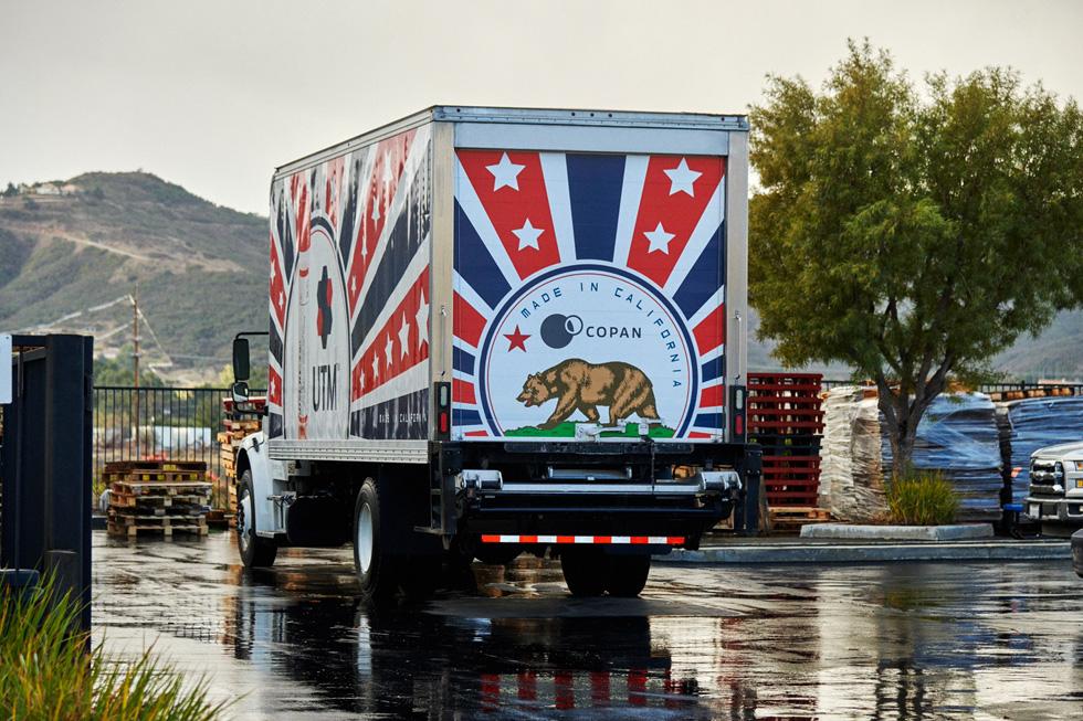 A COPAN Diagnostics truck.