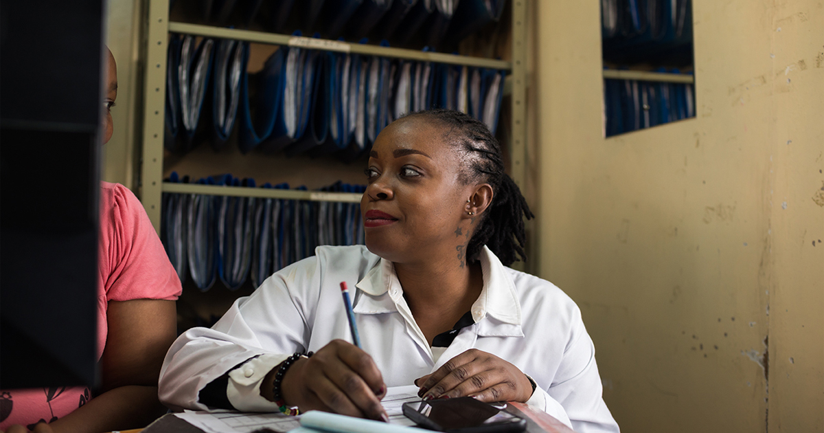 The HIV-positive caregivers working to end AIDS in Africa