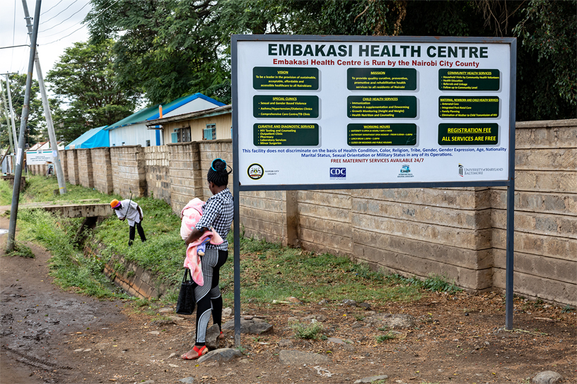 The Embakasi Health Centre.