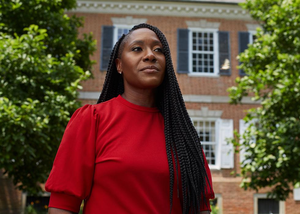 Dr. Francine Edwards von der Delaware State University.