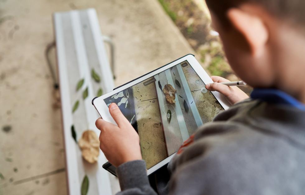 BrockBlackley utilise l'Apple Pencil et iPad.