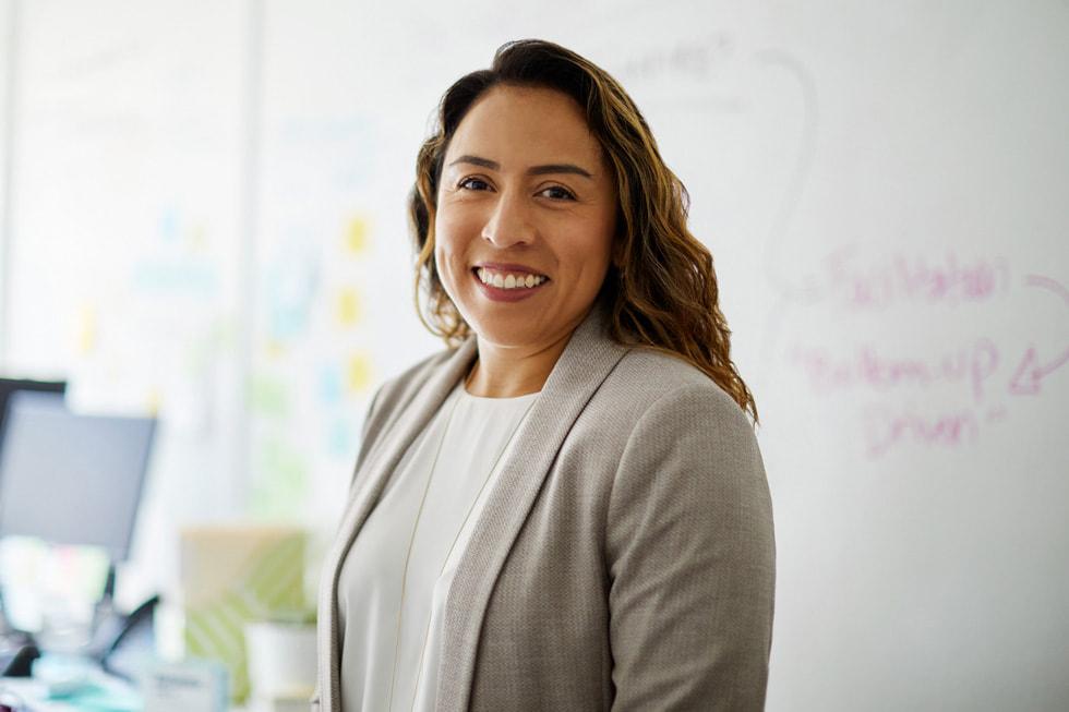 Portrait of Alejandra Alvarez, director of Regional One Health's Center for Innovation.