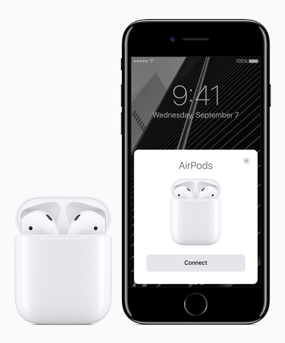 detailed pictures 16ad5 18ee7 Apple reinvents the wireless headphone with AirPods - Apple