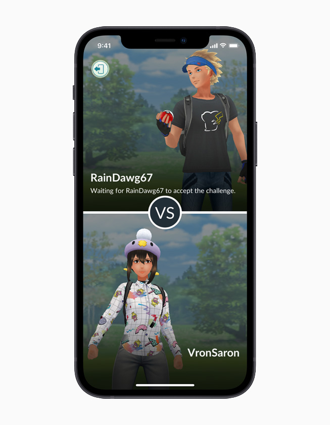 Pokémon GO gameplay.