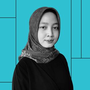 Aisyah Widya Nur Shadrina, graduate from the Apple Developer Academy in Jakarta, Indonesia.