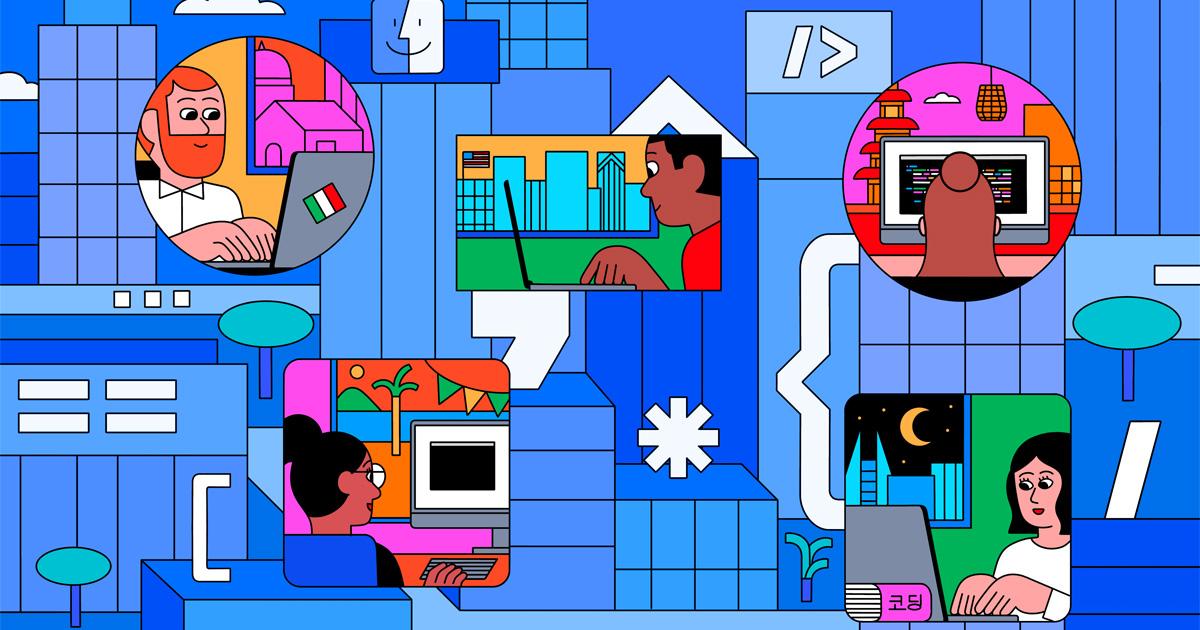 Programmierer:innen, Designer:innen und Unternehmer:innen blühen dank der Apple Developer Academy auf