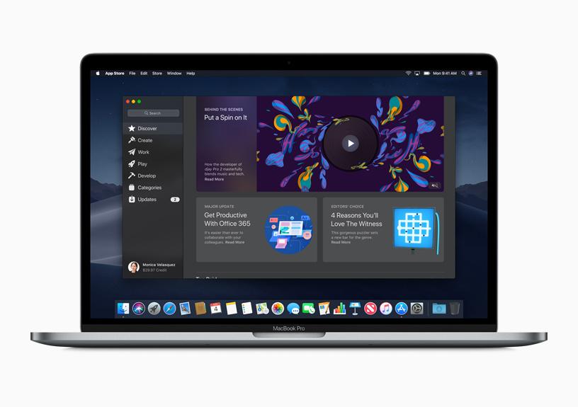 Apple zeigt Vorschau des völlig neuen Mac App Store