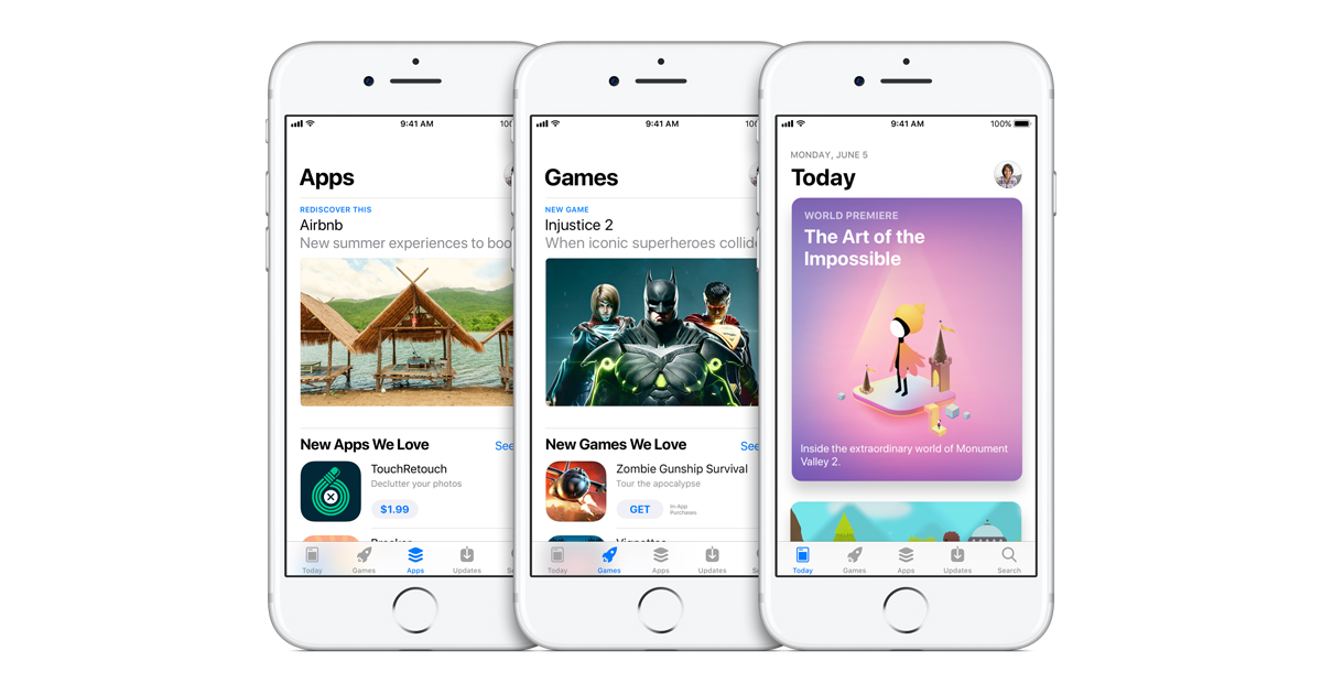 Apple unveils all-new App Store - Apple
