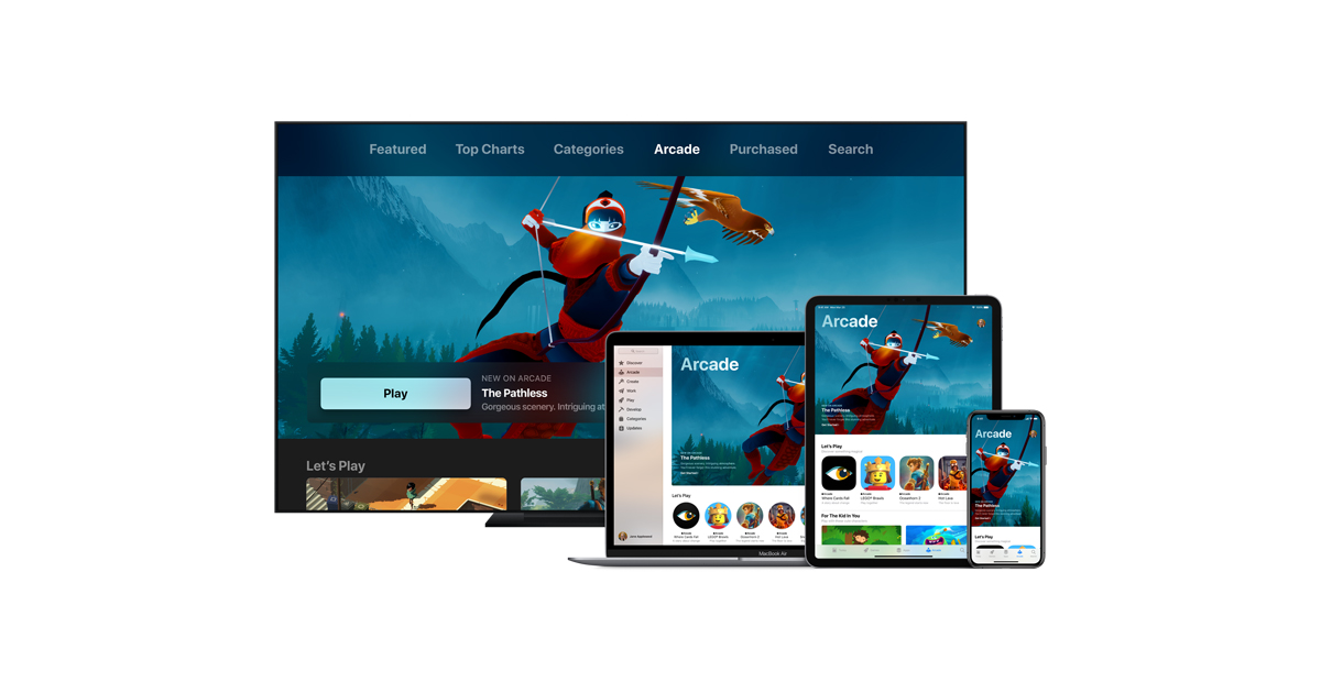 Apple introduces Apple Arcade — the world's first game ...