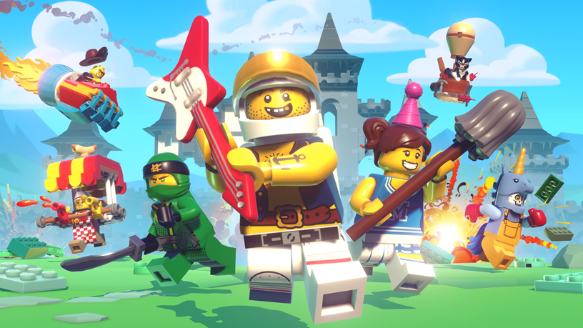 A still from LEGO Brawls for Apple Arcade.