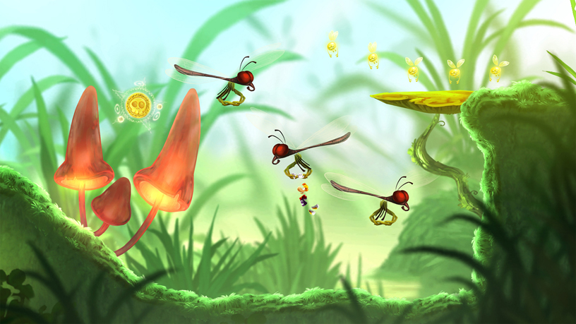 "Ubisoft's ""Rayman Mini"" on Apple Arcade."