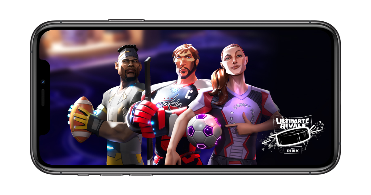 """Apple launches new """"Ultimate Rivals"""" sports game franchise on Apple Arcade - Apple Newsroom"""