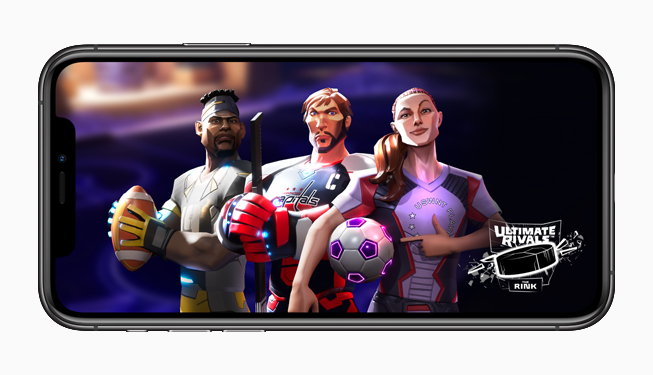 Apple Arcade Launches 'Ultimate Rivals' All-New Sports Game Franchise