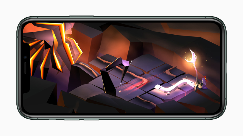 "Gameplay di ""The Enchanted World"" su iPhone 11 Pro."