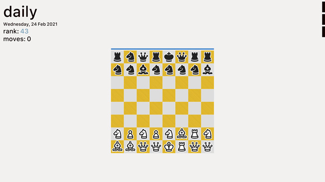 "A still from the game ""Really Bad Chess."""
