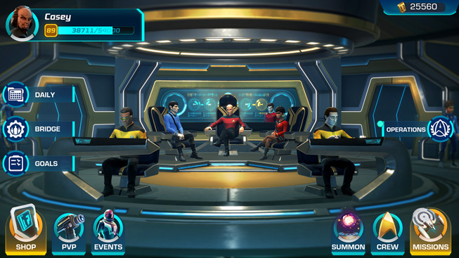"A still from the game ""Star Trek: Legends."""