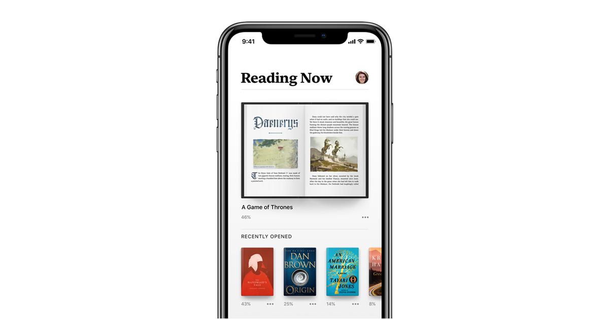 apple books neu f r iphone und ipad feiert das lesen. Black Bedroom Furniture Sets. Home Design Ideas