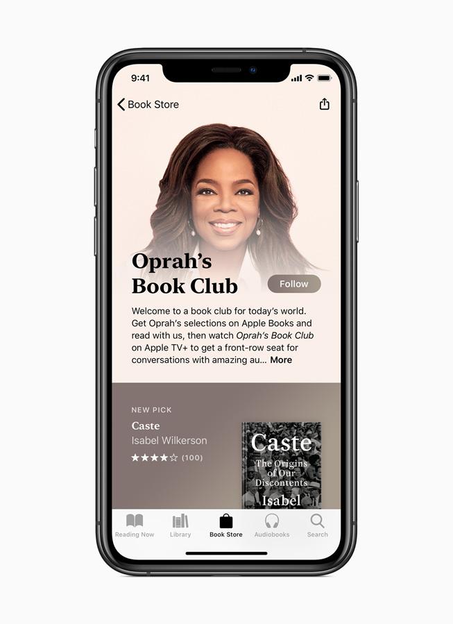 Apple Books store tab.