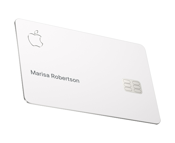 Titanium Apple Card.
